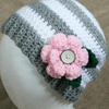 4-12 Year Meghan Slouch Hat Crochet Pattern