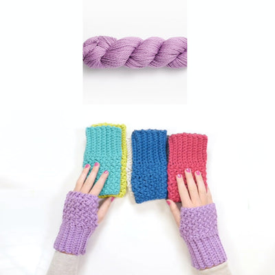 Elizabeth Fingerless Gloves Crochet Kit