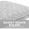 Basket Weave Pillow Crochet Class