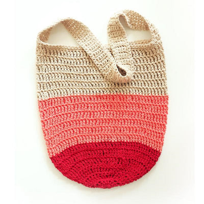 Color Block Boho Bag Crochet Pattern