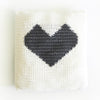 Crochet Heart Cushion Crochet Pattern