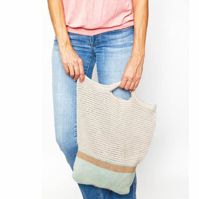 Market Tote Bag Crochet Kit
