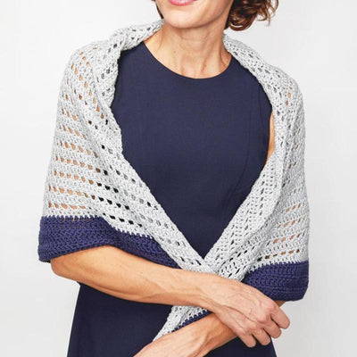 Summer Shawl Crochet Pattern