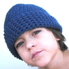 Crochet Hat Pattern Beanie Baby through Adult