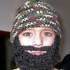 Full Beard Baby Beanie Crochet Pattern