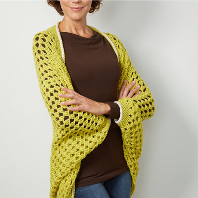Cocoon Cardigan Crochet Kit