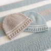Easy Striped Baby Hat Crochet Pattern