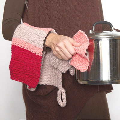 Modern Tea Towel Set Crochet Pattern