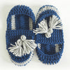 Tassel Slip on Slippers Crochet Pattern