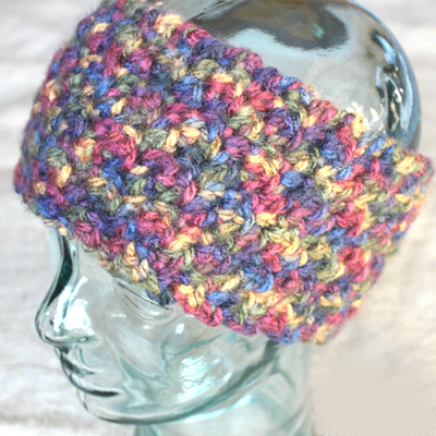Dylan Ear Warmers Crochet Pattern