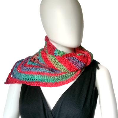 Everyday Triangle Scarf Crochet Pattern
