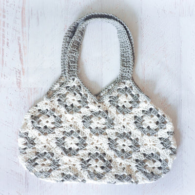 Granny Square Bag Crochet Pattern
