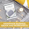 Handmade Business eBook and Worksheets