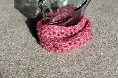 Breast Cancer Awareness Cowl Crochet Pattern