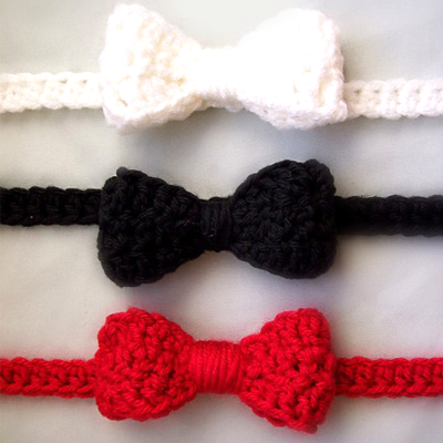 Infant Bow Tie Crochet Pattern