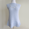 Peplum Top Crochet Kit