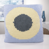 Intarsia Knit Pillow Cover Knit Kit