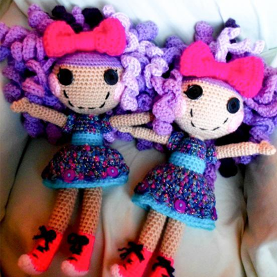 Lalaloopsy Inspired Crochet Doll Pattern