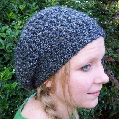 Lovely Lady Slouchy Hat Pattern