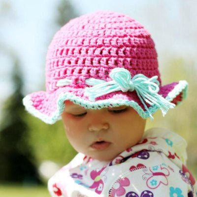 6-9 Month Sun Hat Crochet Pattern