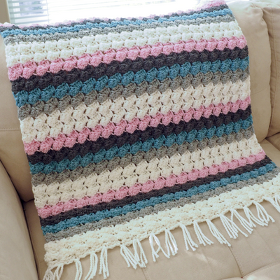 Baby Bumps Blanket Crochet Pattern