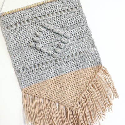 Boho Wall Hanging Crochet Pattern