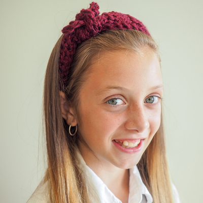 Cozy Fall Headband Crochet Pattern