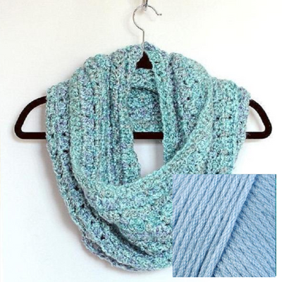 Easy Infinity Scarf Crochet Kit