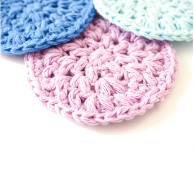 Reusable Face Scrubbie Crochet Pattern
