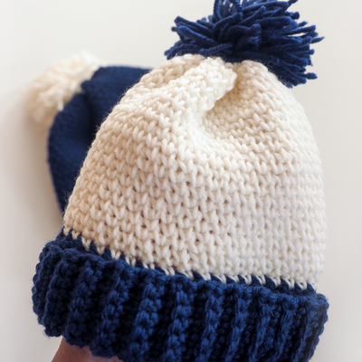 Family Beanie Hats Crochet Pattern