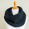 Moss Stitch Cowl Crochet Pattern