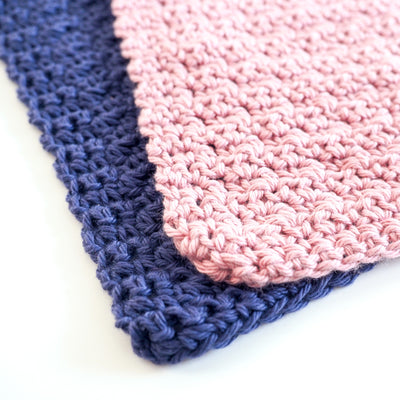 Washcloth Set Crochet Kit