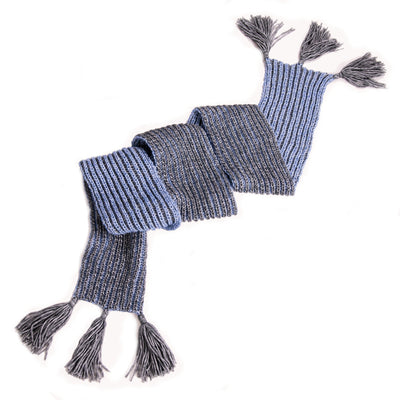 Unisex Brioche Scarf Knitting Kit