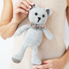 Bow Tie Teddy Crochet Kit