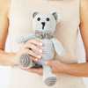 Bow Tie Teddy Crochet Pattern