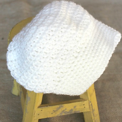 Newborn Chef Hat Crochet Pattern