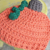 Newborn Pumpkin Hat Crochet Pattern