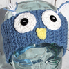 Owl Ear Warmers Crochet Pattern