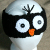 Penguin Ear Warmers Crochet Pattern