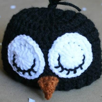 6b29c8e1280 Preemie Newborn Adorable Penguin Hat Crochet Pattern