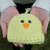 Preemie Newborn Chick Hat Crochet Pattern