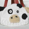 Preemie Newborn Cow Hat Crochet Pattern