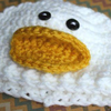 Preemie Newborn Duck Hat Crochet Pattern