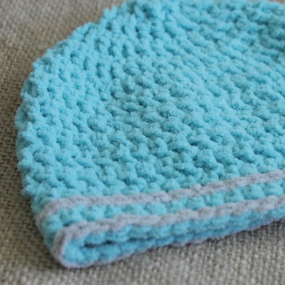Preemie Newborn Hunter Hat Crochet Pattern