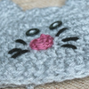 Preemie Newborn Kitty Hat Crochet Pattern