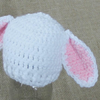 Preemie Newborn Lamb Hat Crochet Pattern