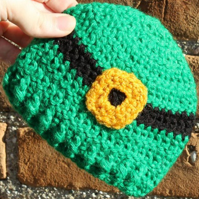 Preemie Newborn Leprechaun Hat Crochet Pattern