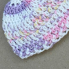 Preemie Newborn Light Worsted Weight Ribbed Hat Crochet Pattern