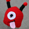 Preemie Newborn Monster Hat Crochet Pattern