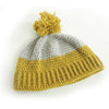 Adult Duo-Tone Beanie Crochet Kit